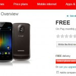 Galaxy Nexus – Now Available on Vodafone