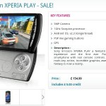 Sony Ericsson XPERIA PLAY down in price