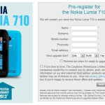Lumia 710 Available to pre-order at Carphone Warehouse