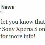 T-Mobile to take the Xperia S too