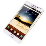 Galaxy Note, in white, exclusive to.. err.. John Lewis
