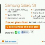 Samsung Galaxy SII on Orange now with NFC