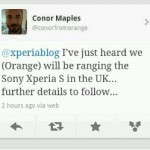 Orange and O2 confirm they are to carry the Xperia S