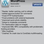 Wordpress On iOS Gets Updated
