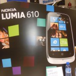 MWC – Lumia 610 Hands On Photos