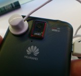 MWC   Huawei Ascend D quad   Up close