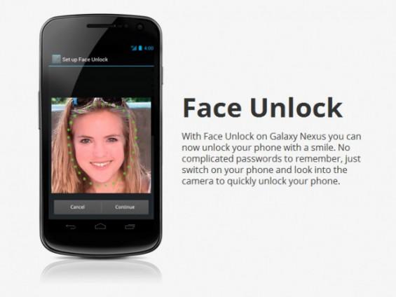 Galaxy Nexus Face Unlock 620x465