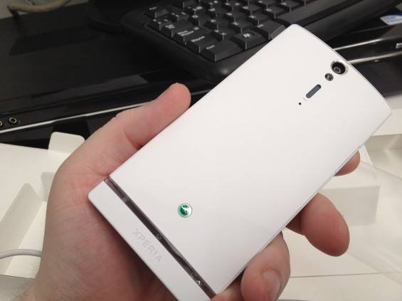 Xperia S Hands on photos and first unboxing