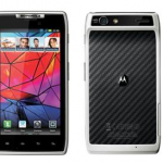 White Motorola RAZR Arrives At Phones4U