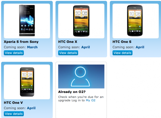 O2 Coming Soon Page Updated