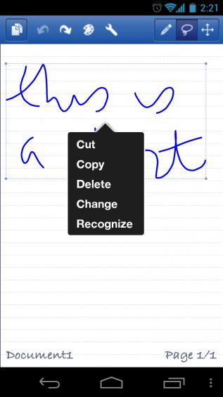Test Handwriting