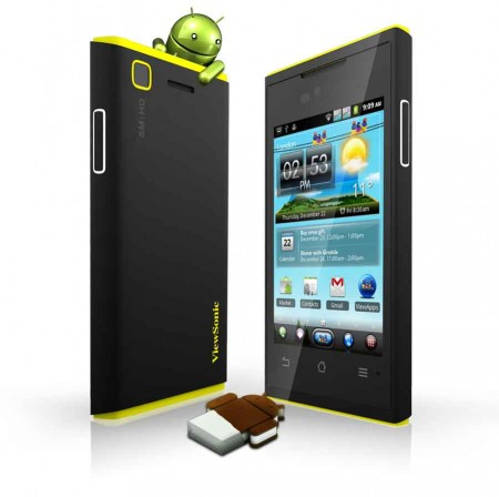 MWC   ViewSonic announce the worlds first Ice Cream Sandwich Dual SIM Smartphone