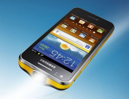 Samsung Galaxy Beam is now up for pre order
