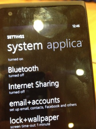 MWC   Internet Sharing available on the Nokia Lumia 900