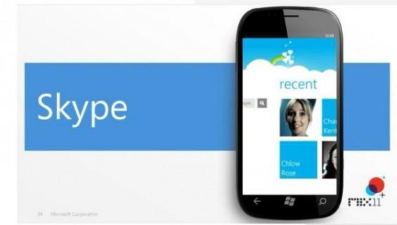 skype windows phone 7 app 0
