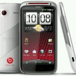 White HTC Sensation XE ready to grab