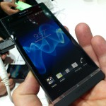 MWC – Xperia S – Up close