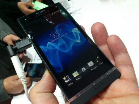 MWC   Xperia S   Up close