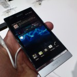 MWC – Xperia P – Up close