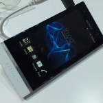 MWC – Xperia U – Up close