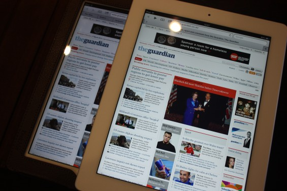 Hands on with the new iPad