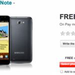 Galaxy Note Now On Vodafone UK