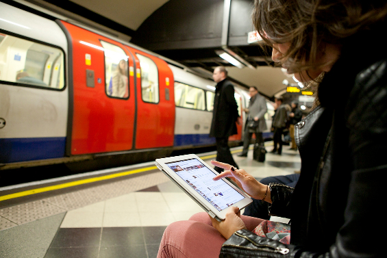 Virgin Media will roll out Wi Fi across London Underground stations in a groundbreaking first later this year
