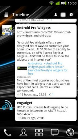 Coolsmartphone Recommended Android app   Android Pro Widgets