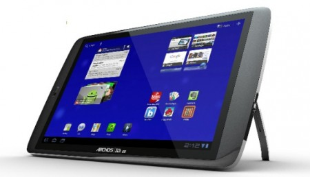 Archos G9 Ice Cream Sandwich Update ready