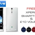 Sony Xperia S white available from Clove