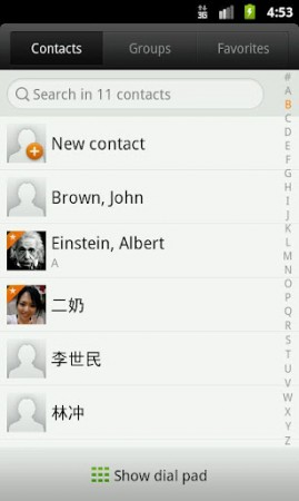 Coolsmartphone Recommended Android app   ex Dialer and Contacts