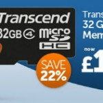 Grab deal on a Transcend 32GB – 24 hours only