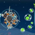 Angry Birds Space caught on video