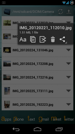 Coolsmartphone Recommended Android app   File Browser Widget