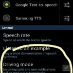 "Activate the Galaxy SII ""Driving Mode"" in a snap"