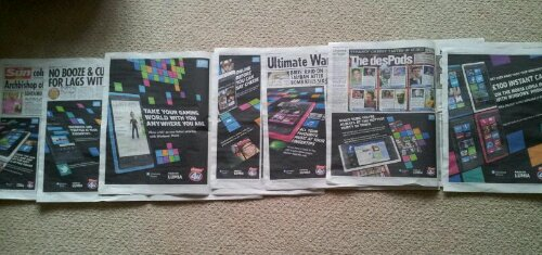 Microsoft, Nokia and Phones 4U in another advertising blitz