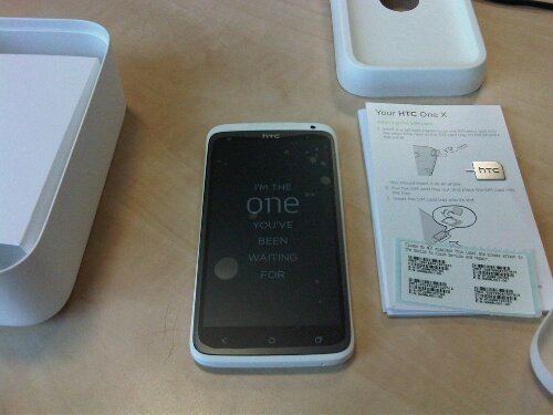 HTC One X in stock, but...