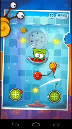 Cut the Rope: Experiments is now available on Android