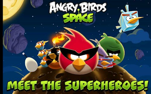 Angry Birds Space is finally available for Android