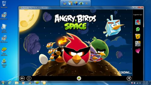 Bluestacks allows you to use Android apps on your Windows PC