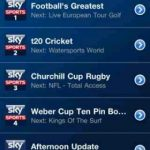 Sky Sports TV for iOS adds Sky Sports F1