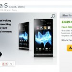 Xperia S available unlocked from Expansys