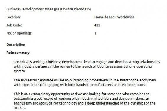 Ubuntu Smartphone OS on the way?