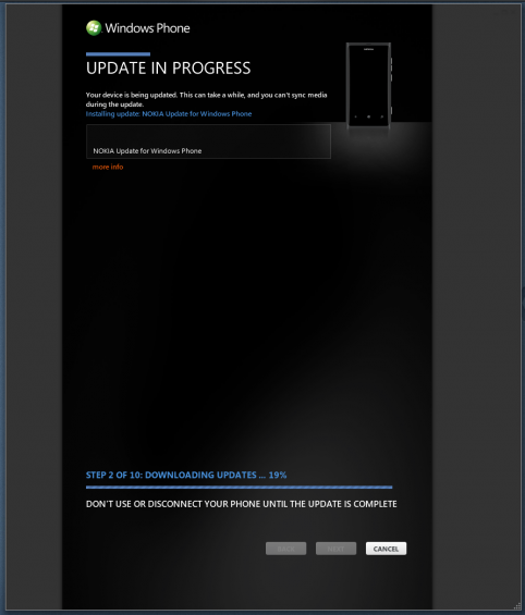 Did you get your Lumia 800 battery boosting software update?