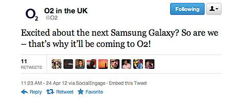 O2 To Stock The Next Galaxy