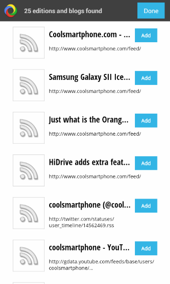 Coolsmartphone Available on Google Currents