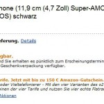 Galaxy SIII appears on Amazon
