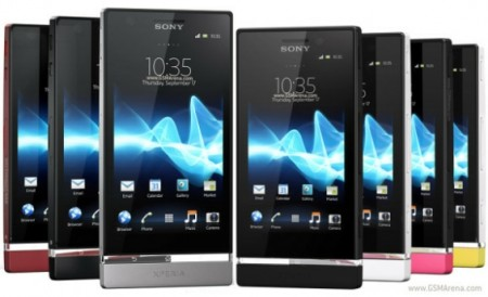 Sony Xperia P and Xperia U Delayed