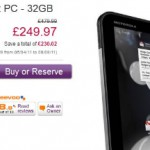 PC World knock down the Motorola Xoom this Easter