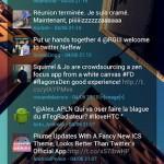 Andriod App: Minimal Twidget (alpha)